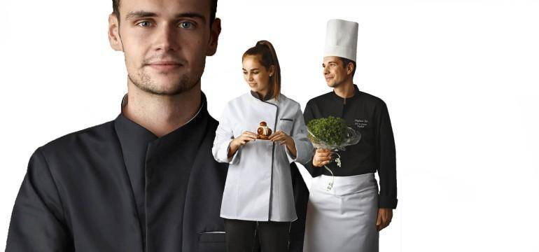 Les vestes de cuisine robur blog bga vetements for Cuisine entiere