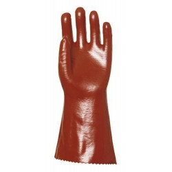 Lot 10 paires de gants PVC 36 cm Spuer Actifresh, chimique