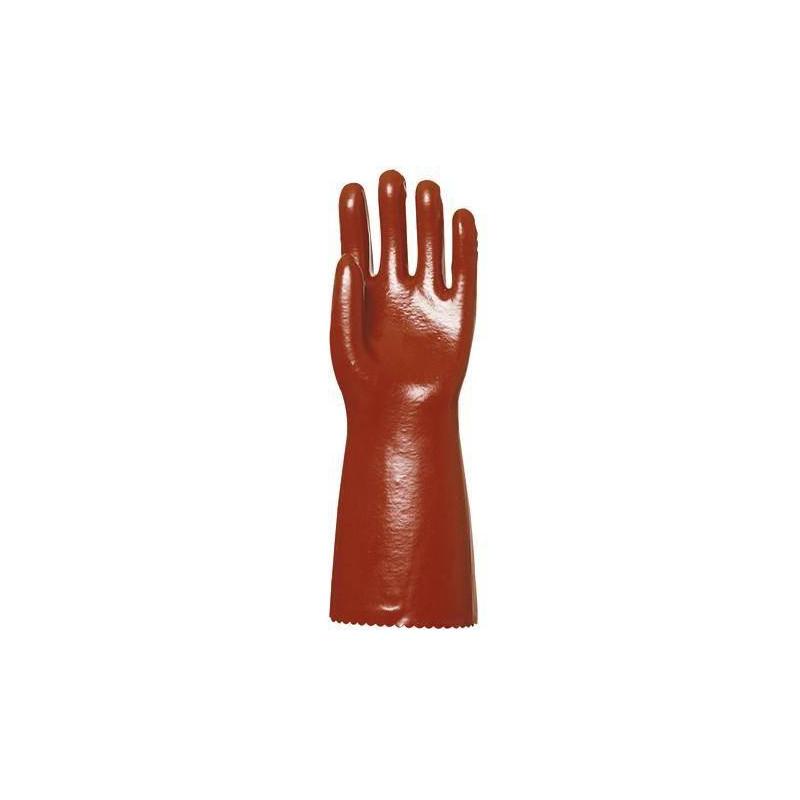 Lot 10 paires de gants PVC 40 cm Super Actifresh, chimique