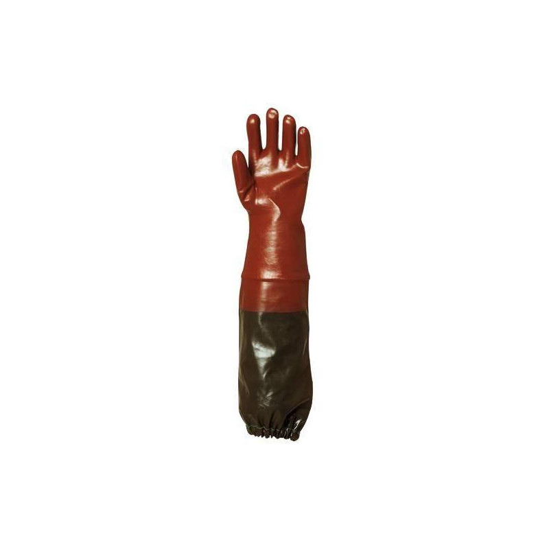 Lot 6 paires de gants PVC 70 cm supérieur