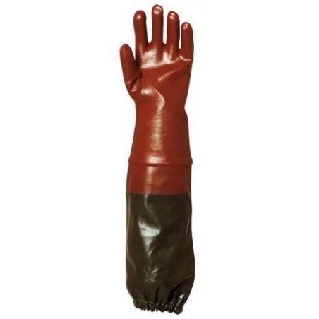 Lot 6 paires de gants PVC 65 cm supérieur