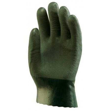 Gants polymère vert 27 cm (lot de 10 paires)