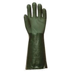 Lot 10 paires de gants polymère vert, 40 cm Actifresh, chimique