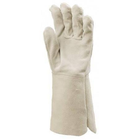 Lot 10 paires de gants de soudeur avec protège artère