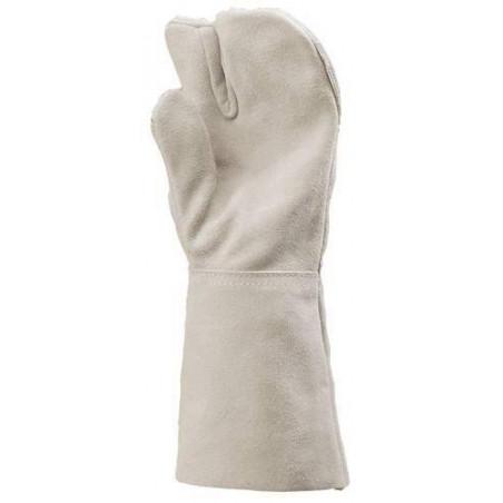 Lot 12 paires de gants à 3 doigts pour soudeur