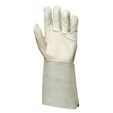 Lot 10 paires de gants thermiques avec  manchette 15 cm