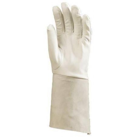 Lot 10 paires de gants de soudure avec manchette 15 cm