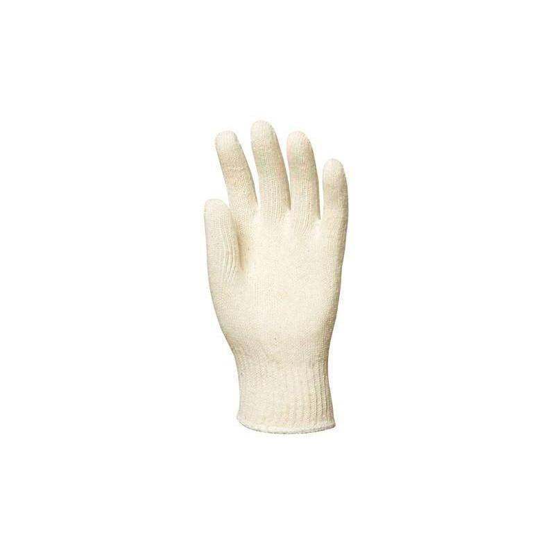 Lot 250 pièces gants coton tricolté léger