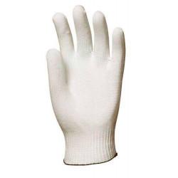 Lot 10 paires de gants nylon tricoté sans peluche