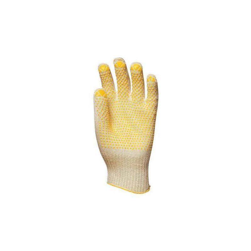Lot 10 paires de gants anti-coupure Abralon léger avec picots, 10 jauge
