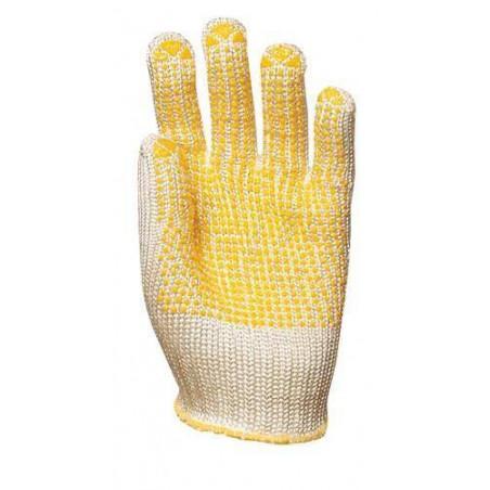 Lot 10 paires de gants anti-coupure Abralon lourd avec picots, 7 jauge, 120 g