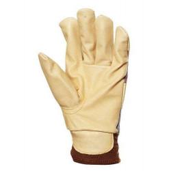 Lot 60 pièces gants docker fleur porc, molletonné, poignet élastique