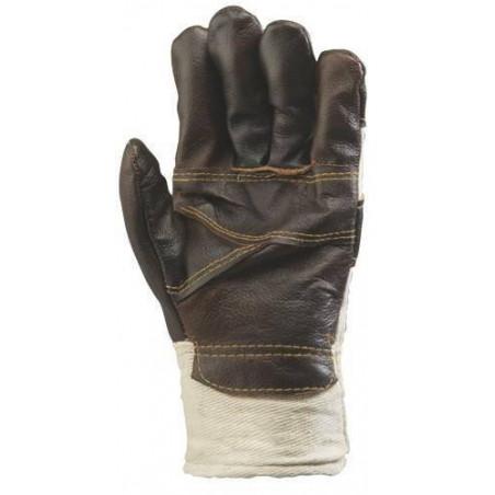 Lot 60 paires gants fleur ameublement, fourré. 310