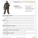 Pantalon de travail avec poches genoux en polycoton 245 g m² BOSTON