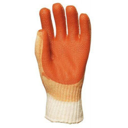 Lot 10 paires de gants latex vuulcanisé rouge PREVENT