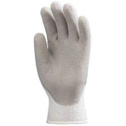 Lot 12 paires de gants antifroid enduit latex gris