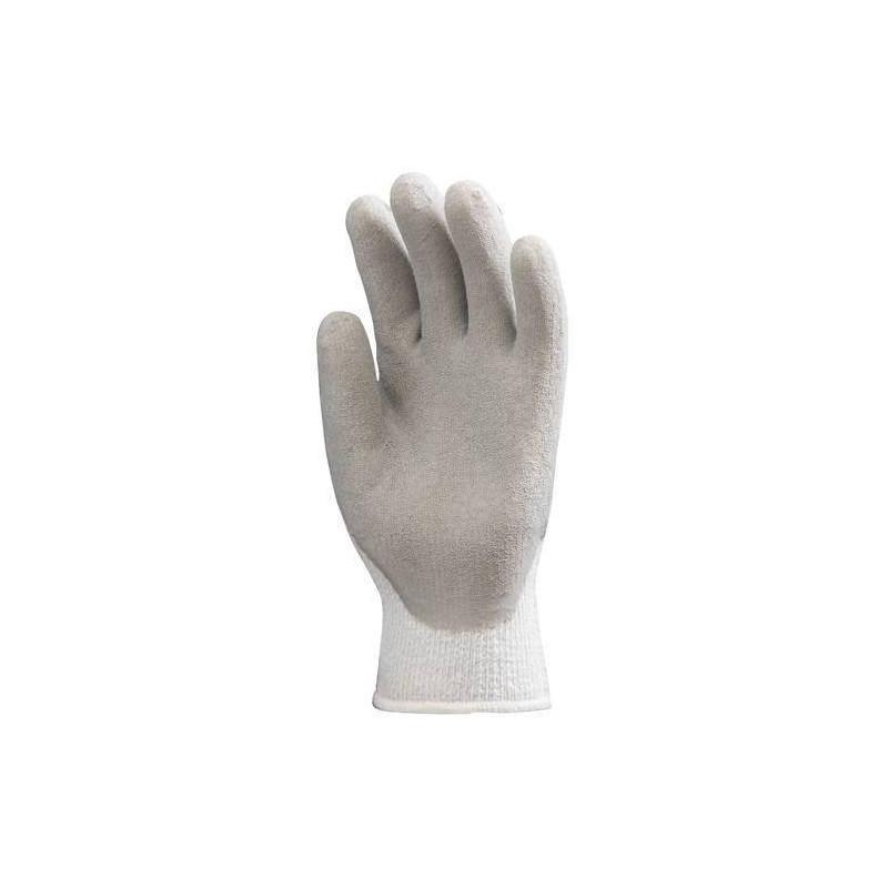 Lot 12 paires de gants antifroid enduit latex gris