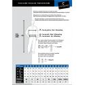 PATROL veste de travail polycoton avec bandes rétro réfléchissantes 3M haute visibilité