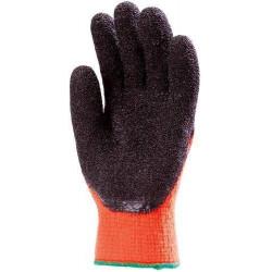 Lot 10 paires de gants Anti-froid HIVIZ Paume enduit latex