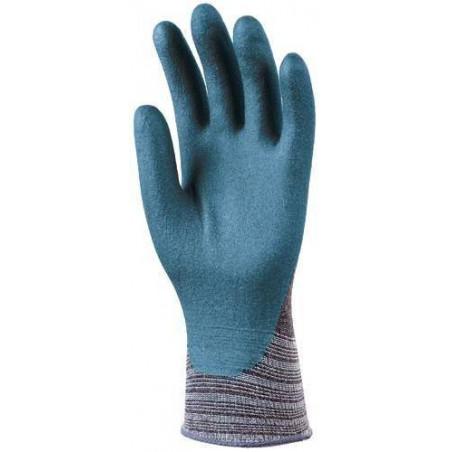 Lot 10 paires de gants EUROFIT Bi-polymer 3/4 enduit