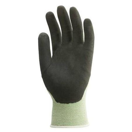 Lot 10 paires de gants EUROBAMBOU Nylon/Spandex paume enduite