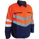 Veste de travail haute visibilité JESSY VISION Marine/Orange