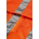 Gilet de travail double bande YARD Orange détail
