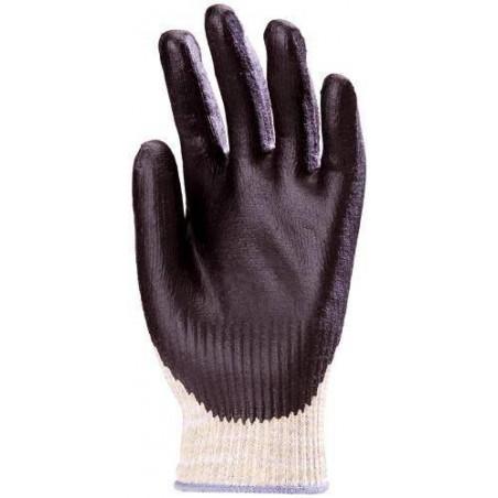 Lot 10 paires de gants Kevlar EUROSAFE+ Paume enduit Nitrile