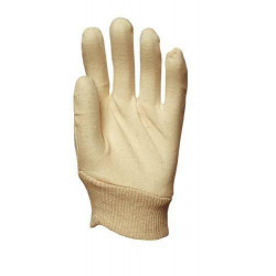 Lot 600 pièces gants coton interlock cousu 40 g