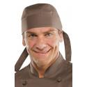 Calot de cuisine mixte Marron
