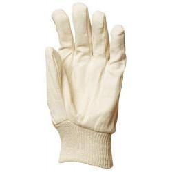 Lot 300 pièces gants coton croisé, poignet tricot