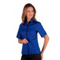 Chemise de service manches courtes KYOTO Bleu Royal