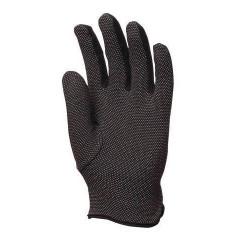 Lot 300 pièces gants coton noir avec mini-picots noirs