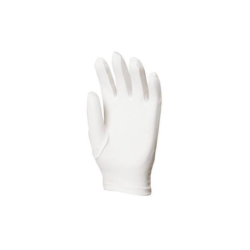 Lot 600 pièces gants Nylon blanc coupe ville