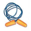 Bouchons BIP antibruit PU avec corde (boîte de 150 paires)
