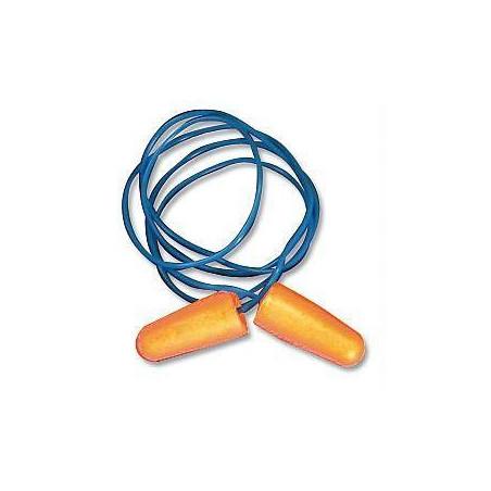 10 boites de bouchons BIP antibruit PU avec corde (boîte de 150 paires)