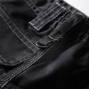 Bermuda de travail homme JACQUOT Noir détail ceinture