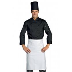 Veste de cuisine homme manches longues ELLIOTT Noir