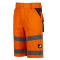 Bermuda haute visibilité ALDRIN Orange
