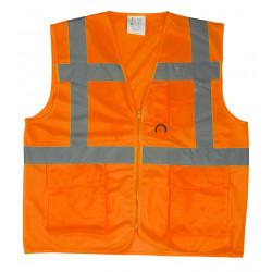 Gilet haute visibilité multipostes YARD Orange