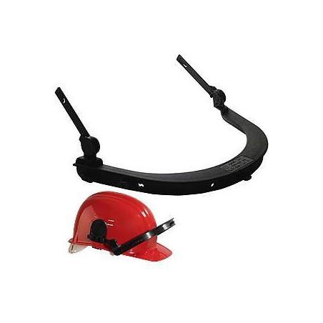 Lot 10 support visière pour casque de chantier