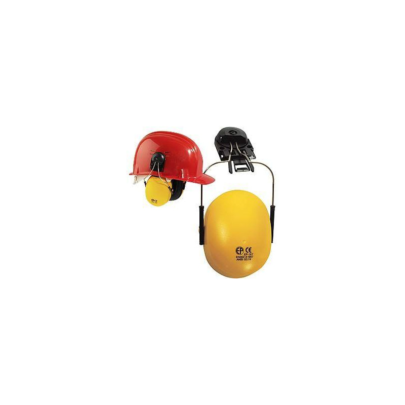 Lot 10 antibruit + adaptateur pour casque de chantier