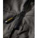 Combinaison de travail homme double zip SALVADOR Vert / Olive détail