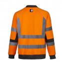 Pull de travail haute visibilité NEON Orange Dos