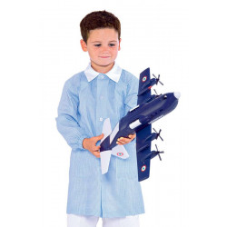 Blouses enfant colorées destockées Bleu