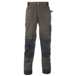 Pantalon de travail homme BOUND VERT DESTOCKE