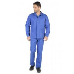 Veste de travail homme ACTION WORK Bleu Bugatti