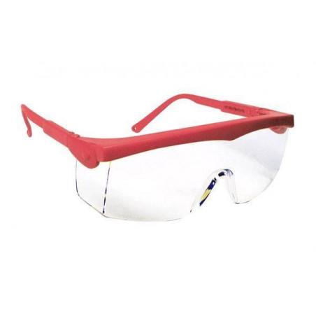 Lot 10 paires de lunettes PIVOLUX Monture rouge - Oculaire incolore