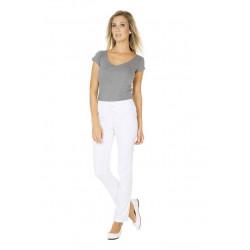 Pantalon médical pour femme LUDO BLANC