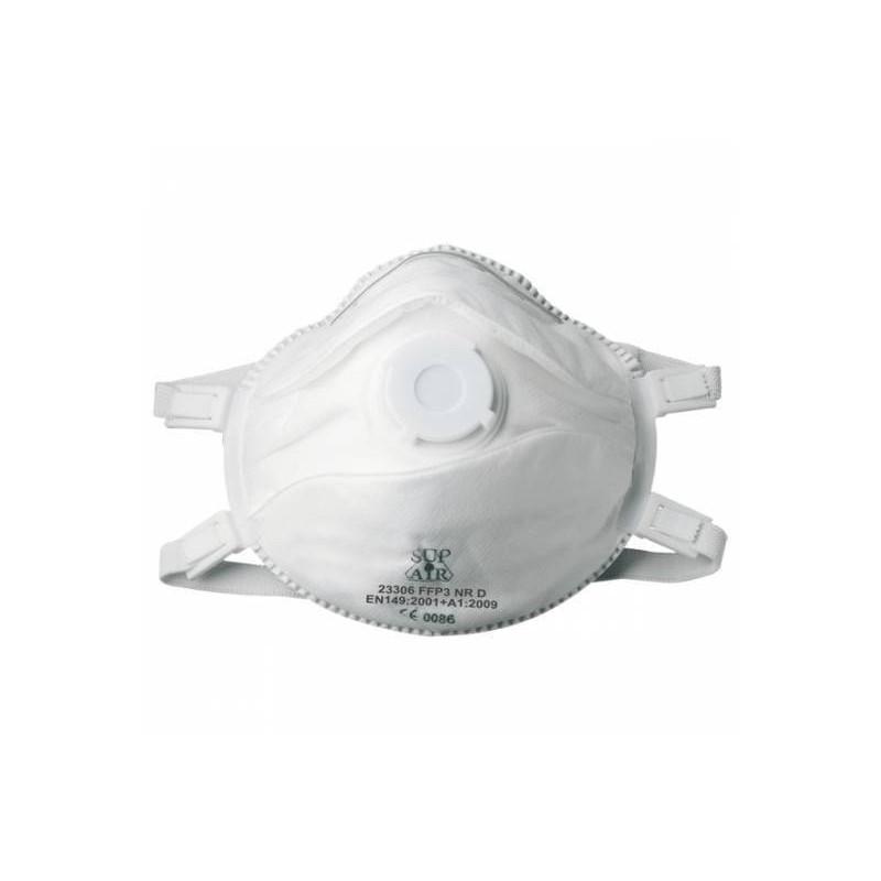 lot de 12 boites de 5 masques a coque valve premium FFP3